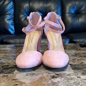 Pink Christian Siriano Heels